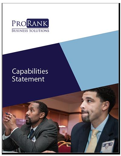 ProRank Capabilities Statement